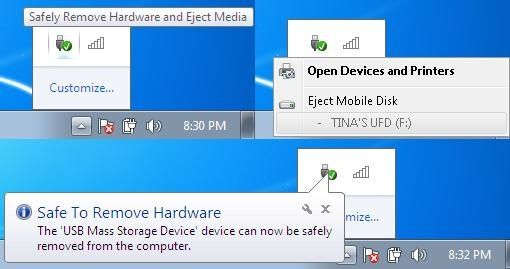 Remove multiple thumb drives