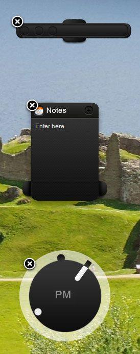 useful widgets for desktop