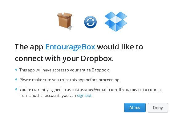 allow others to upload files to your dropbox