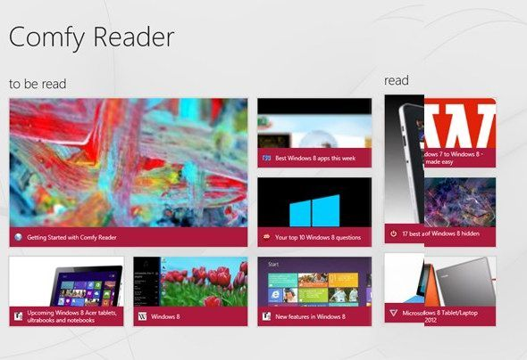 127   Comfy Reader: Makes Webpages More Readable By Stripping Away Unnecessary Elements [Windows RT,8]