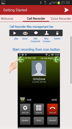 record incoming calls android
