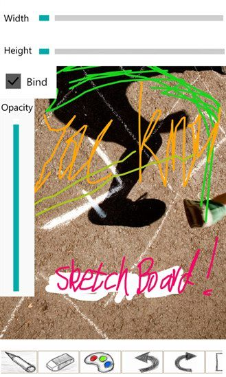 15   Sketch Board: Sketch Drawing On Your Smartphone [Windows Phone]