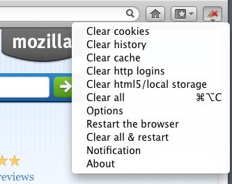 delete all browsing data