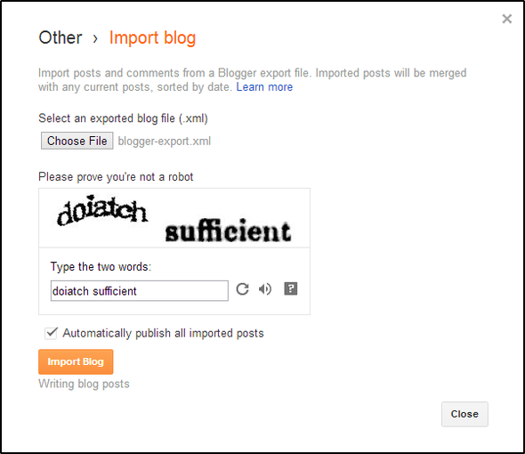 Your Last Minute Guide To Exporting Your Posterous Blog Before It Shuts Down Forever Blogger Other Import blog