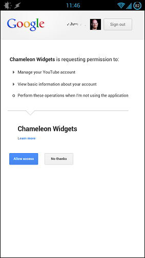 chameleon launcher for phone