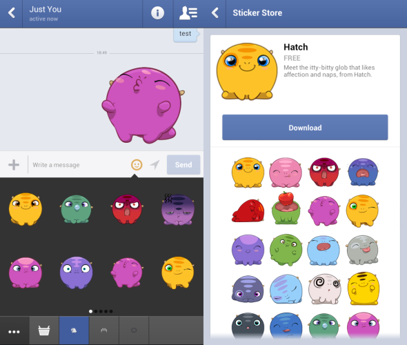 Chat Heads & Stickers - Check Out The New Features on Facebook Messenger [Weekly Facebook Tips] Facebook Stickers