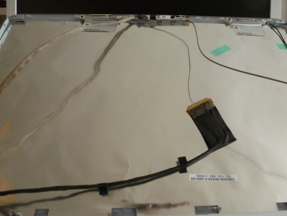 Busted - How To Deal With a Broken Screen On Your Laptop Laptop Display Wires