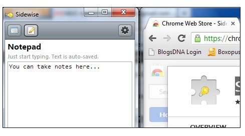 Sidewise Tree Style Tabs: Display Your Tabs On The Side Pane Of Chrome Notepad
