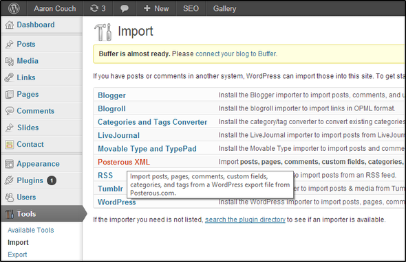 Your Last Minute Guide To Exporting Your Posterous Blog Before It Shuts Down Forever WordPress