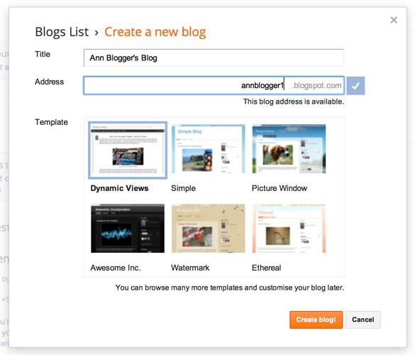 wordpress blogger comparision