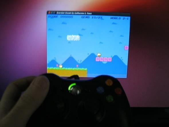 connect xbox 360 to linux