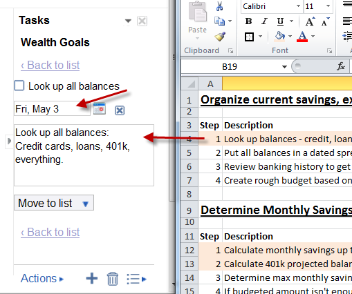 Use Excel & Google Tasks to Create the Best Goals Management Tool Ever excelgoals7