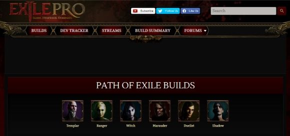 path of exile characters