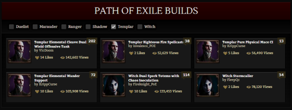 path of exile new character