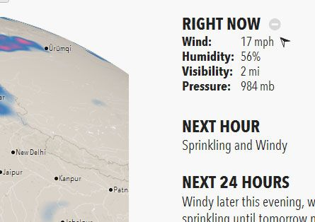 Forecast: A User-Friendly Website That Shows Your City's Weather Forecast  forecast3