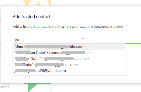google inactive accounts