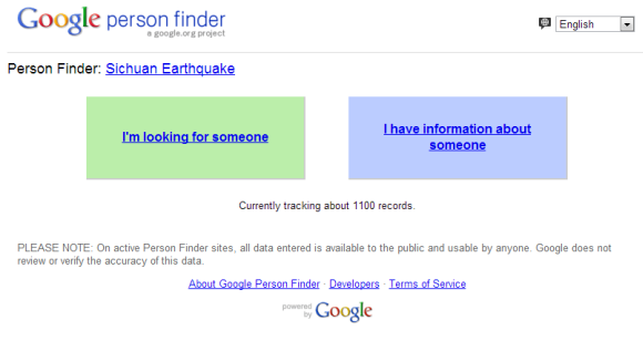 How to Use Google Person Finder to Locate Loved Ones After a Disaster googlepersonfinder2