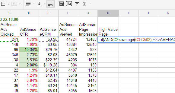 Perform Amazing Feats With These Useful Google Spreadsheet Functions - Google spreadsheet examples