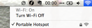 hotspot control connected   Hotspot Control: Use Your Android As A Wireless Router