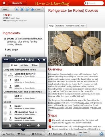 Not Just Recipes: 4 iPad Apps That Teach You To Cook [iOS] how to cook everything3