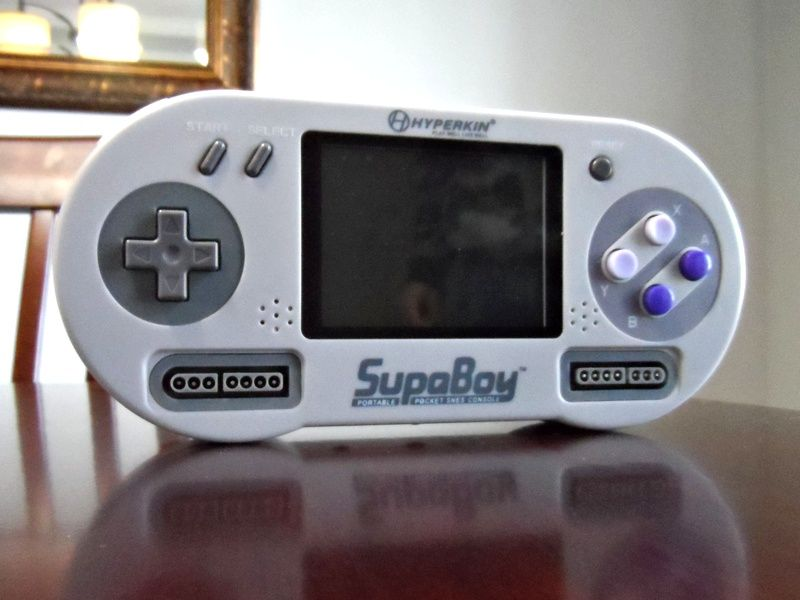 hyperkin supaboy review portable snes