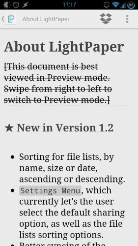 Write & Preview Markdown In Style With LightPaper [Android] lightpaper 03
