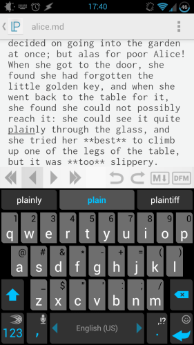 Write & Preview Markdown In Style With LightPaper [Android] lightpaper 11