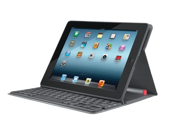 ClamCase Pro iPad Keyboard Case Review and Giveaway logitech solar