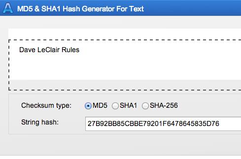 MD5 Online: Free Web-Based MD5 & SHA1 Hash Generator