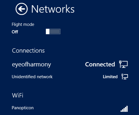 Metro/Modern Apps Unstable? Try These Tricks muo w8appissues network