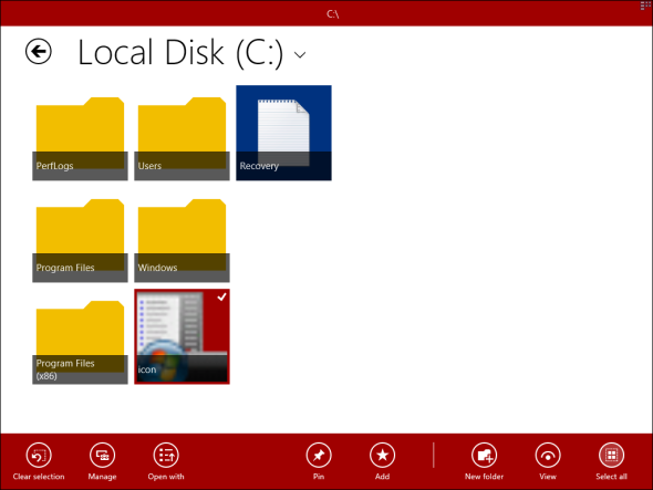 windows explorer for windows 8