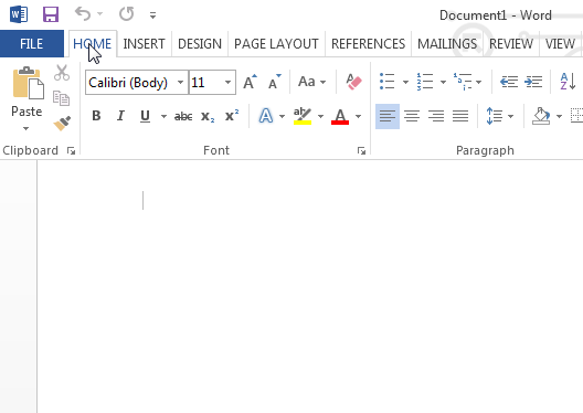 office 2013 look like 2010