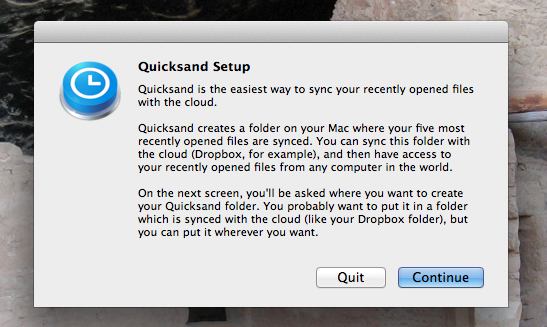 sync your files to the cloud mac