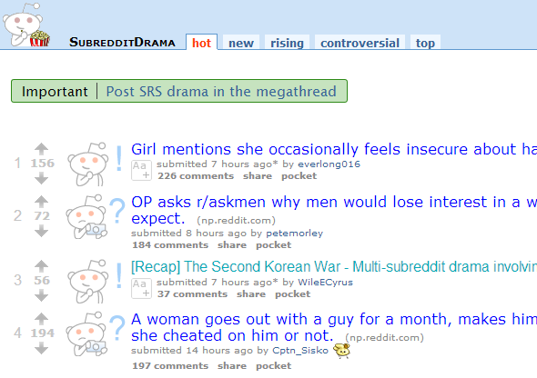 Meta - 7 Awesome Subreddits All About Reddit reddit drama