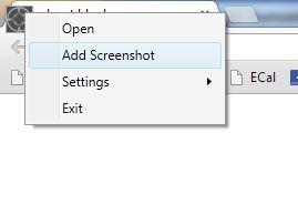 take screenshots on your pc