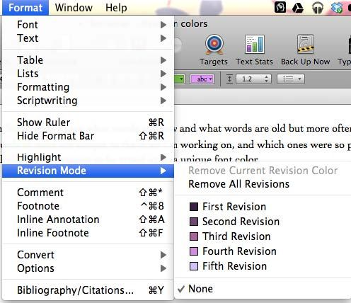 guide to scrivener
