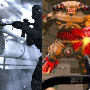 Doom Vs. Call Of Duty Modern Warfare – Just How Far Has The FPS Come?