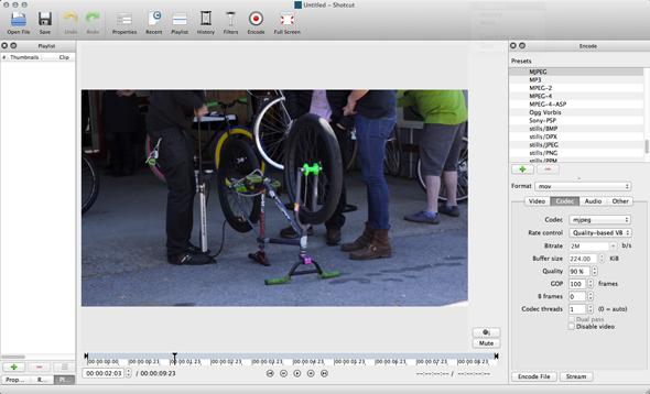 cross platform open source video editing