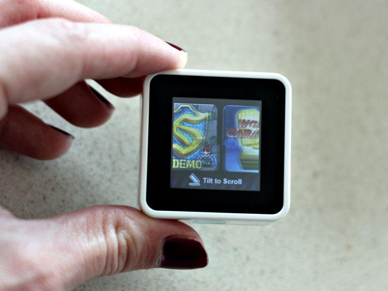 sifteo cubes game review