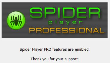 spider player review