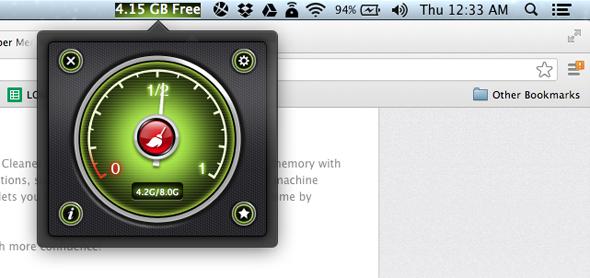 free up your ram mac
