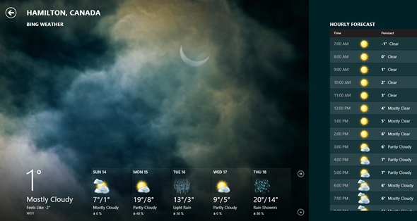 is it raining  4 beautiful  u0026 free weather apps for windows