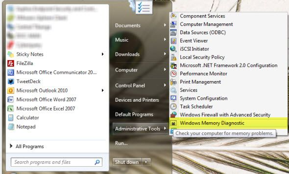 5 Vital System Tools Every Windows User Should Know About windows memory diagnostic start menu