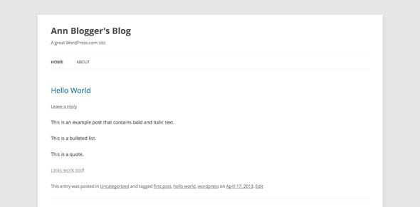 Blogger vs. WordPress.com: A Complete Comparison wordpress post1