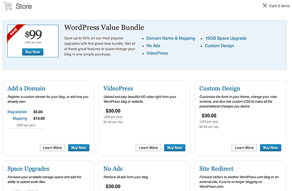 Blogger vs. WordPress.com: A Complete Comparison wordpress premiums