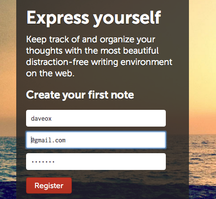 writeapp1   WriteApp: A Distraction Free Web Based Writing App