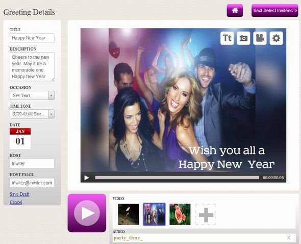 11   inwiter: Create Custom Video Invitations & Greetings
