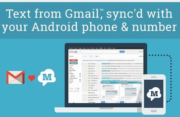 Gtext From MightyText: Send SMS From Gmail, Using Your