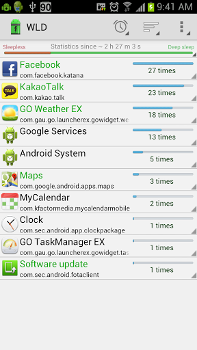 which apps drain battery android