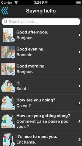 Phrasebook: Free Illustrated & Talking Language Interpreter [iOS] 2